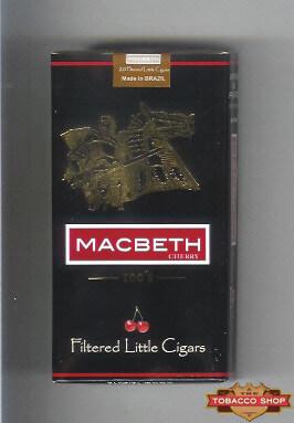 Пачка сигарилл Macbeth Cherry