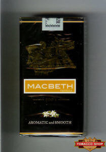 Пачка сигарилл Macbeth Vanilla