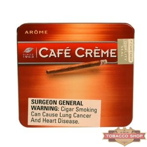 Пачка сигарилл Cafe Creme Arome 10 cigars Duty Free