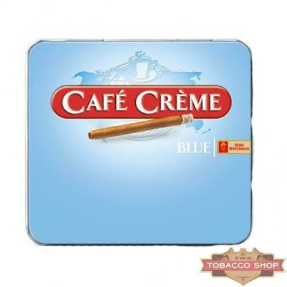 Пачка сигарилл Cafe Creme Blue 10 cigars Duty Free