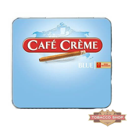 Пачка сигарилл Cafe Creme Blue 10 cigars Duty Free