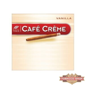 Пачка сигарилл Cafe Creme Vanilla 10 cigars Duty Free