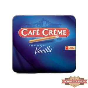 Пачка сигарилл Cafe Creme French Vanilla 10 cigars Duty Free