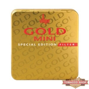 Пачка сигарилл Villiger Mini Gold Special Edition Filter Duty Free