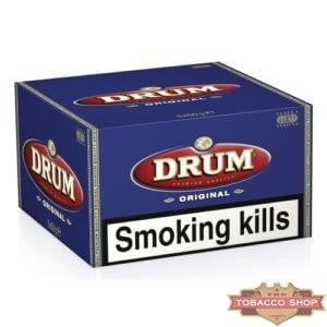 Блок табака для самокруток DRUM Original 5x50g Duty Free