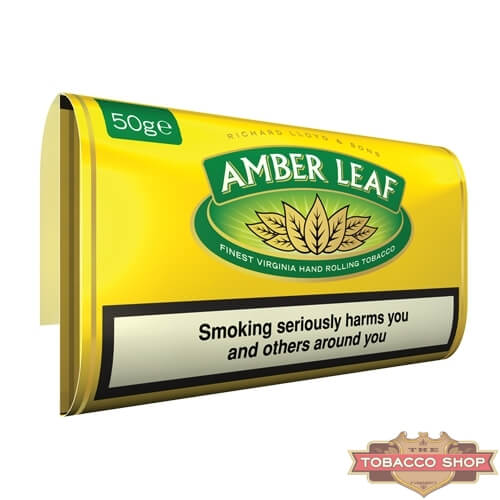 Пачка табака для самокруток Amber Leaf Original Blend 50g Duty Free