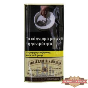 Пачка табака для самокруток George Karelias and Sons Smooth 30g Duty Free