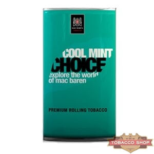 Пачка табака для самокруток Mac Baren Cool Mint Choise 40g Duty Free