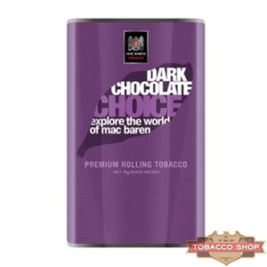 Пачка табака для самокруток Mac Baren Dark Chocolate Choise 40g Duty Free