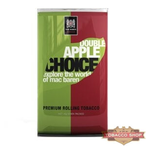 Пачка табака для самокруток Mac Baren Double Apple Choise 40g Duty Free