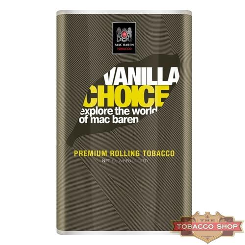 Пачка табака для самокруток Mac Baren Vanilla Choise 40g Duty Free