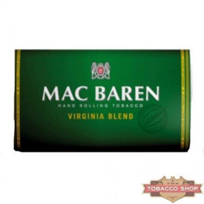 Пачка табака для самокруток Mac Baren Virginia Blend 30g Duty Free