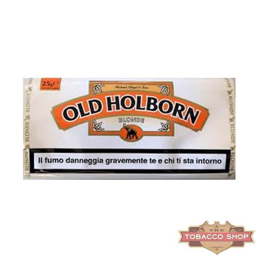 Пачка табака для самокруток Old Holborn Blonde 25g Duty Free
