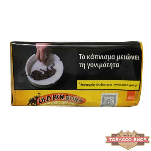 Пачка табака для самокруток Old Holborn Yellow 40g Duty Free