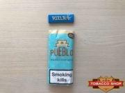 Живое фото пачки табака для самокруток Pueblo Blue 50g Duty Free
