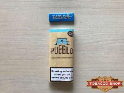 Живое фото пачки табака для самокруток Pueblo Classic 50g Duty Free