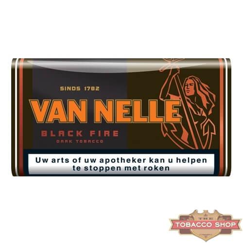 Пачка табака для самокруток Van Nelle Black Fire 50g Duty Free