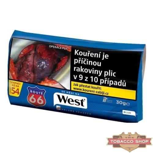 Пачка табака для самокруток West Blue 30g Duty Free