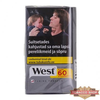 Пачка табака для самокруток West Silver 30g Duty Free